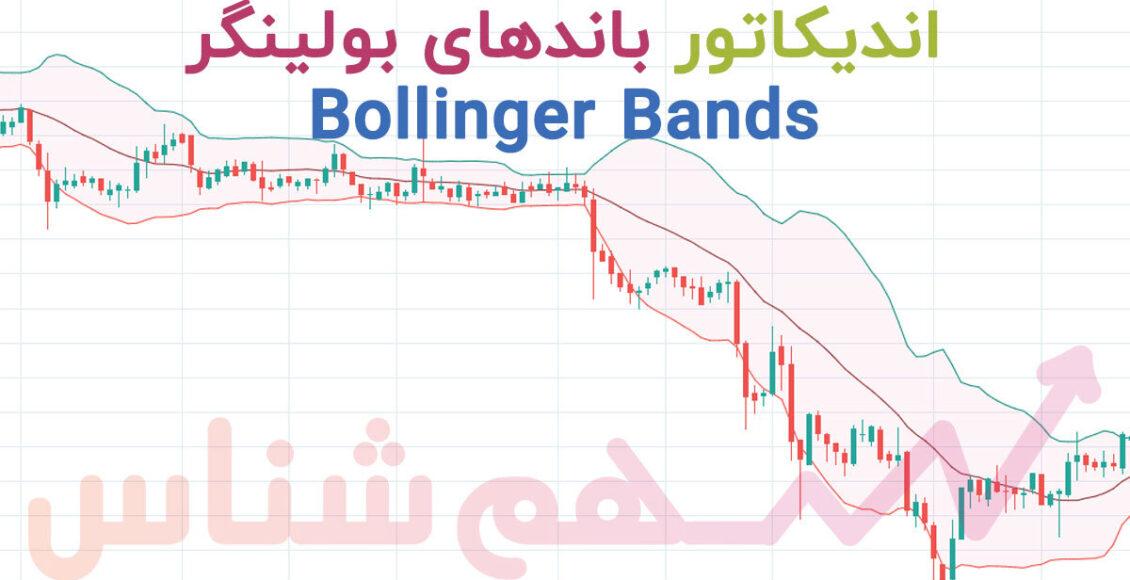 اندیکاتور بولینگر باند bollinger bands